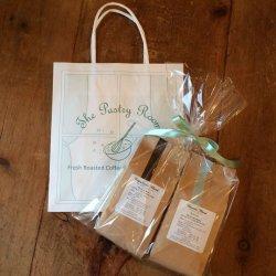 画像1: コーヒー豆 1袋〜3袋用 セロハン&リボン ギフトラッピング