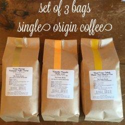 画像1: 【送料込】焙煎士お勧めコーヒー3種セット 200g × 3bags